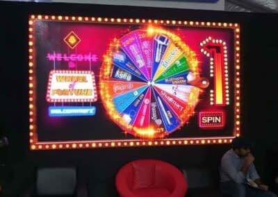 Virtual Wheel of Fortune